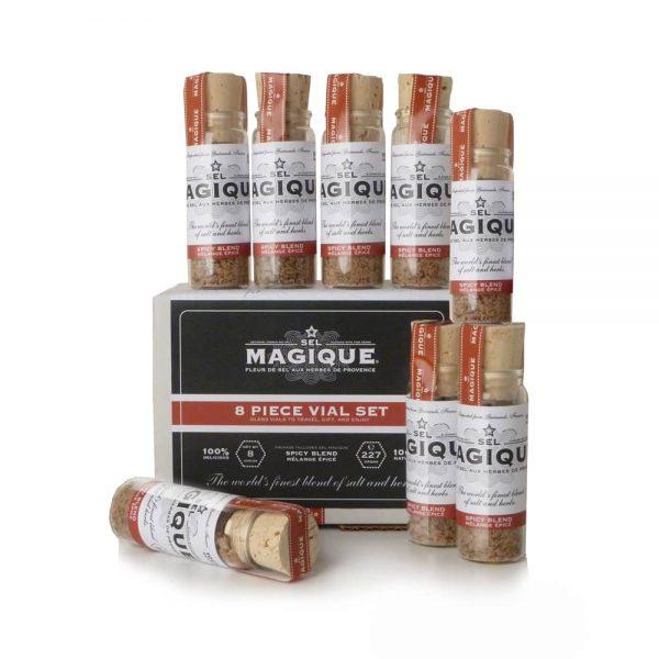 Spicy Salt Blend - 8 Pieces Vial Set