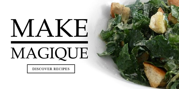 Discover recipes using Sel Magique fine gourmet salt and herb blends