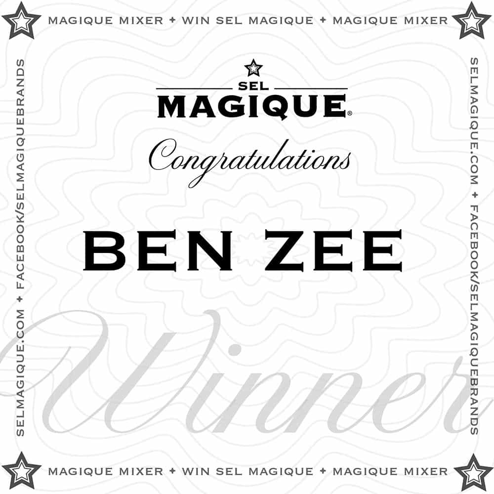 Magique Mixer Winner Ben Zee