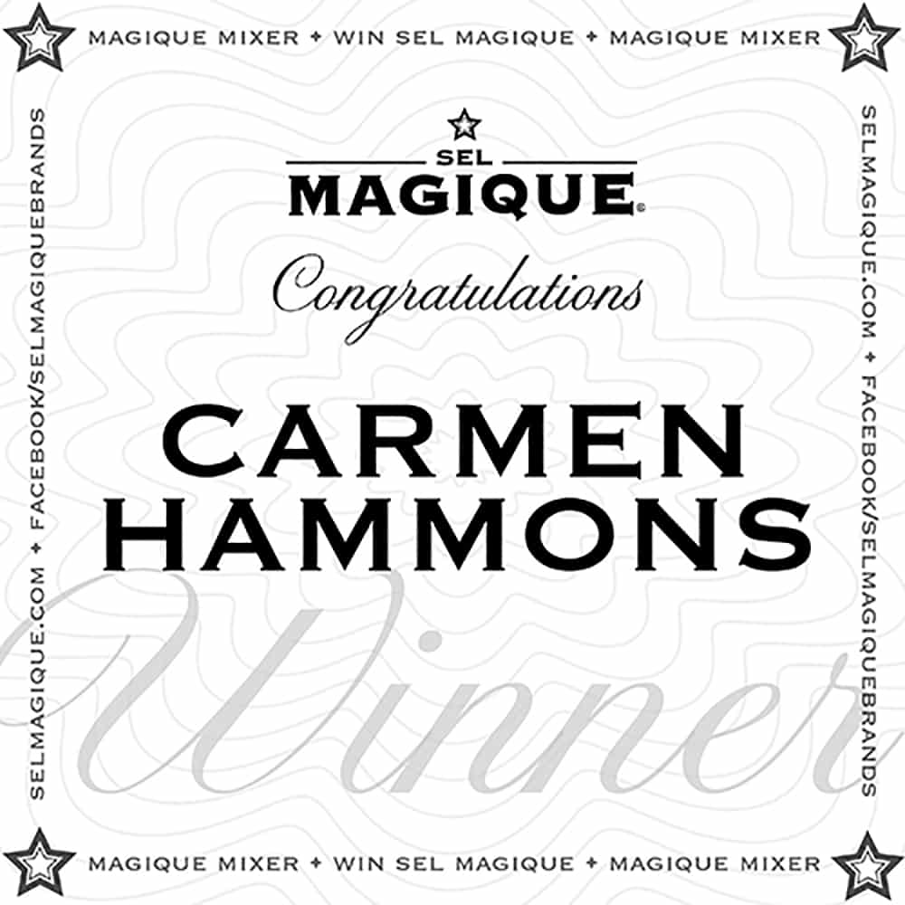 Magique Mixer Winner Carmen Hammons